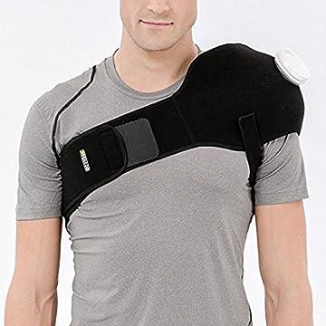 Bracoo アイシングサポーター スポーツ用 氷嚢 けが 腫れ 応急処置 アイシング 肘 肩 膝 腰(6インチのアイス・ホットバッグ付き)
