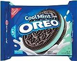 ナビスコ オレオ チョコレートのクールなミント クリーム サンドイッチ クッキー、15.25 oz Nabisco Oreo Chocolate Cool Mint Creme Sandwich Cookies, 15.25 oz