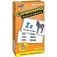 トレンド 英単語 フラッシュカード 子音 Trend Flash Cards Consonants Blends & Digraphs T-53009