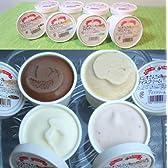 【 スイーツ ギフト 】 高原牧場 アイスクリーム 130ml バラエティ 10個 (ノンホモミルク製 佐賀県産)(のし承ります)