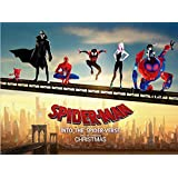 映画ポスター スパイダーマン スパイダーバース マーベル 24×32inc (61×81.5cm) US版 hi7 [並…