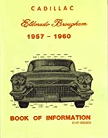 195719581959年19611960Cadillac Eldorado Brougham Book