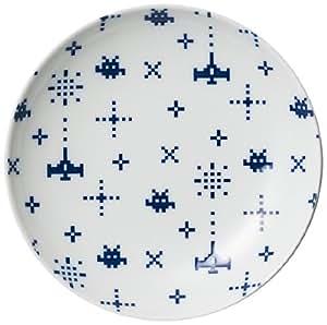 西海陶器 The Porcelains ピコピコゲーム皿 白