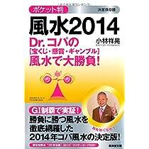 Dr.コパのポケット判風水2014 〔宝くじ・懸賞・ギャンブル〕風水で大勝負! (廣済堂文庫)
