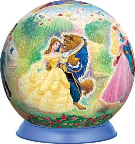 3D球体パズル ディズニー 540ピース 愛のシンフォニー (直径約22.9cm)