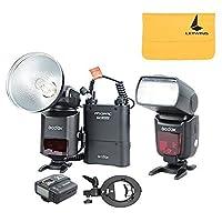 Godox Witstro ad360ii-n TTL Powerfulフラッシュスピードライト+ pb960バッテリーパック+ x1Nワイヤレス送信機+ tt685Nカメラフラッシュ+ Sタイプブラケットfor Nikon DSLRカメラ( ad360ii-nブラックキット1)