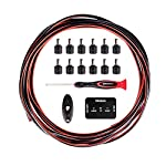 D'Addario ダダリオ DCケーブルキット Solderless DIY Power Cable Kit PW-PWRKIT-20 【国内正規品】