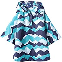 Kids Rain Poncho Raincoat for Girls Boys