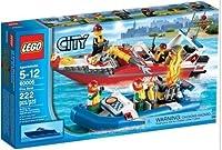 Lego City 60005 Fire Boat NEW in Box!!~