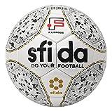 sfida(スフィーダ) フットサル ボール JFA 検定球 Fリーグ 公式 試合球 シームレス 製法 グリップ インフィニート 2 プロ ドット 水玉 INFINITO II PRO BSF-IN11 WHITE 4号 -