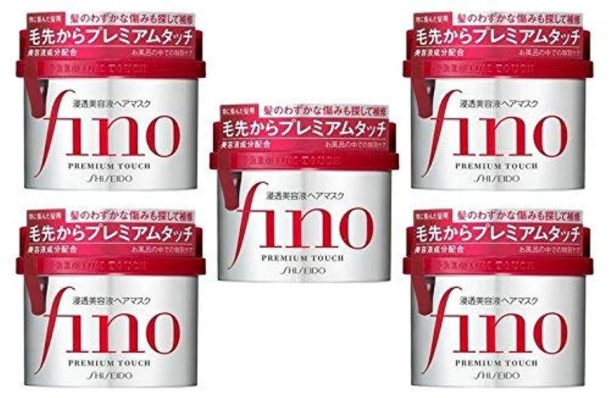 発送眠り教えるフィーノ浸透美容液ヘアマスク230G × 5個セット