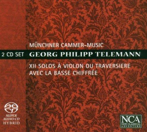 Telemann: XII Solos à Violin où Traversiere avec la Basse chiffrée