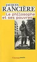 Le philosophe et ses pauvres
