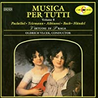 Musica Per Tutti 8 - Linek: Intradas / Bach: Suite for orchestra No 2 in B minor, BWV 1067 / Gounod: Ave Maria / Handel: Harp Concerto in B flat major, etc.