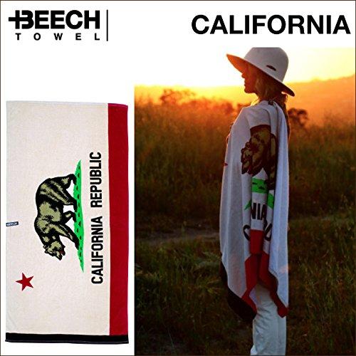 BEECH TOWEL ビーチタオル バスタオルブランケット(CALIFORNIA)