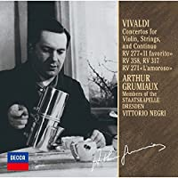 ヴィヴァルディ:ヴァイオリン協奏曲集