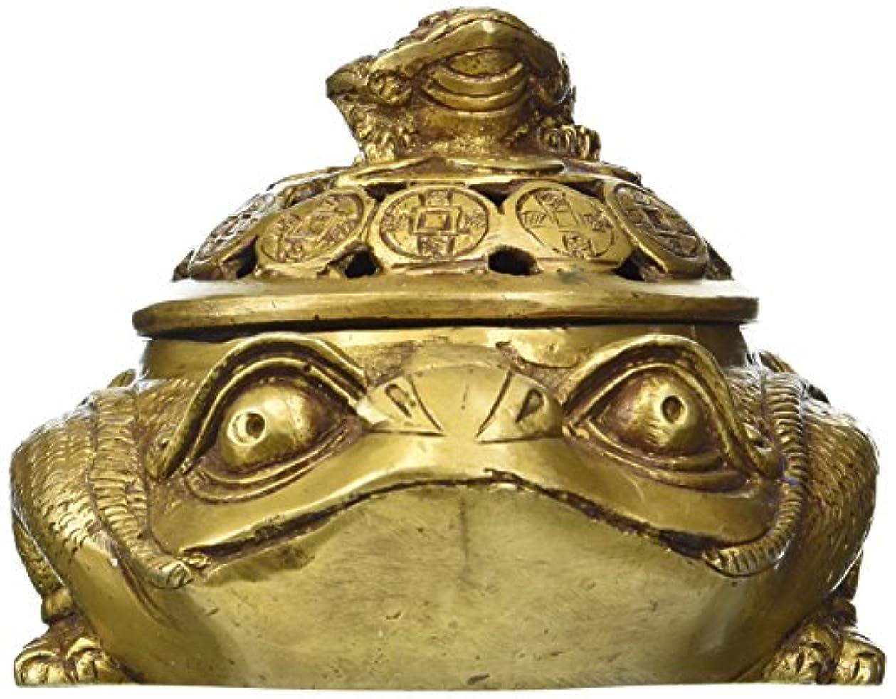 力強い混乱させる生命体エーワンインドのペアDiya Oil Lamp真鍮彫刻供養キャンドルホルダーHindu Religiousホーム装飾ギフト+現金封筒(10個パック)