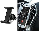 車載ホルダー スマホ エアコンクリップ型 強力固定 360°回転可能 スマートフォン用 車載ホルダー 縦横調節可for iPhone 8 Plus X 7 6 5 SE Samsung Note 8 S8 S7 S6 Edge