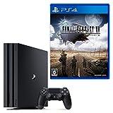 【4/2限定 参考価格から6,065円OFF】PlayStation 4 Pro ジェット・ブラック 1TB + ファイナルファンタジー XV