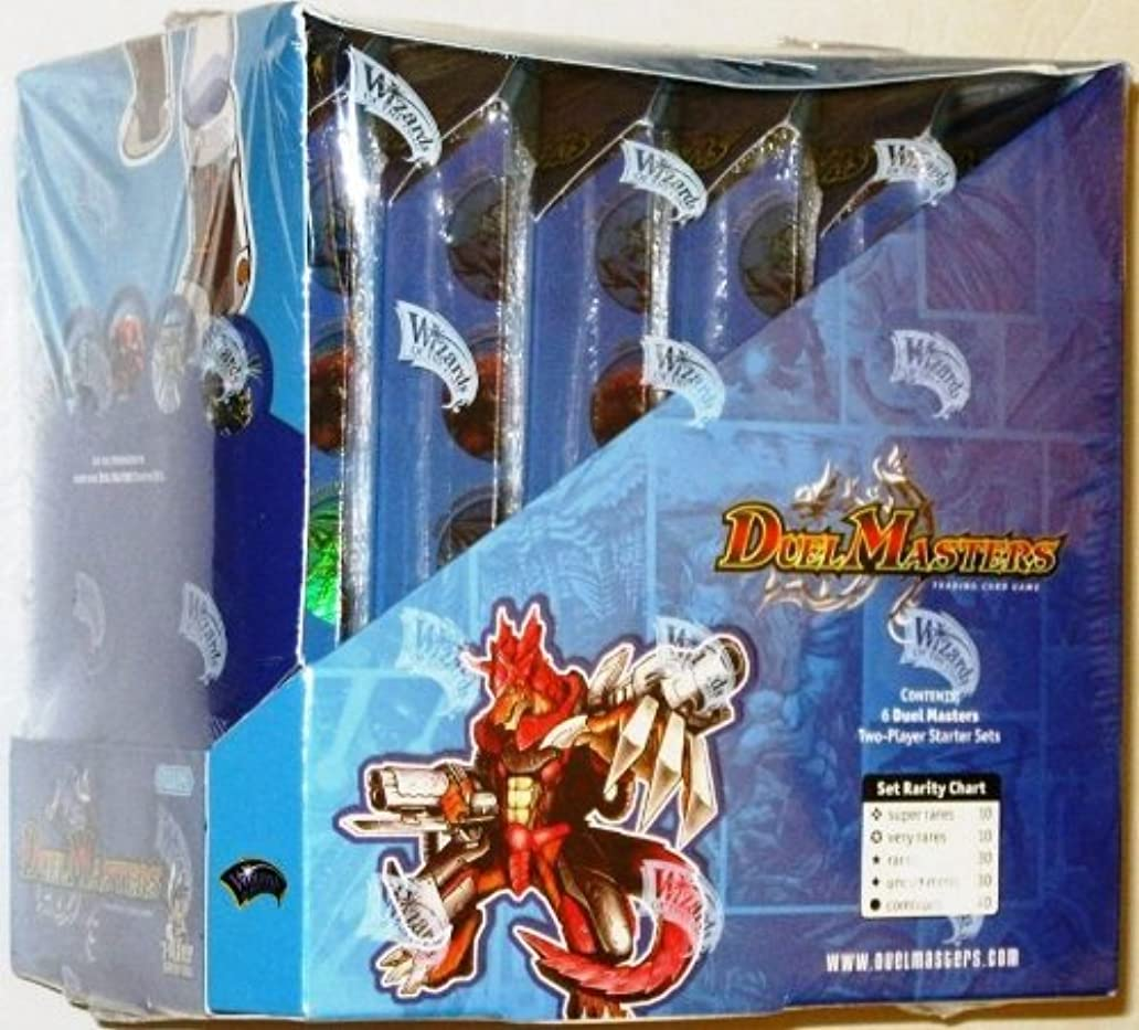 国民容量同一性6 Pack Duel Masters 2-player Starter Sets