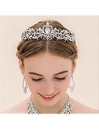 BEE&BLUE ウェディング ティアラ ヘッドドレス 髪飾り ブライダル カチューシャ 美人 オシャレ ヘアアクセサリー