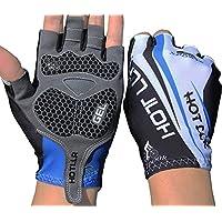 Smingサイクリング手袋半指Gelパッド衝撃吸収指なし手袋メンズ/レディース
