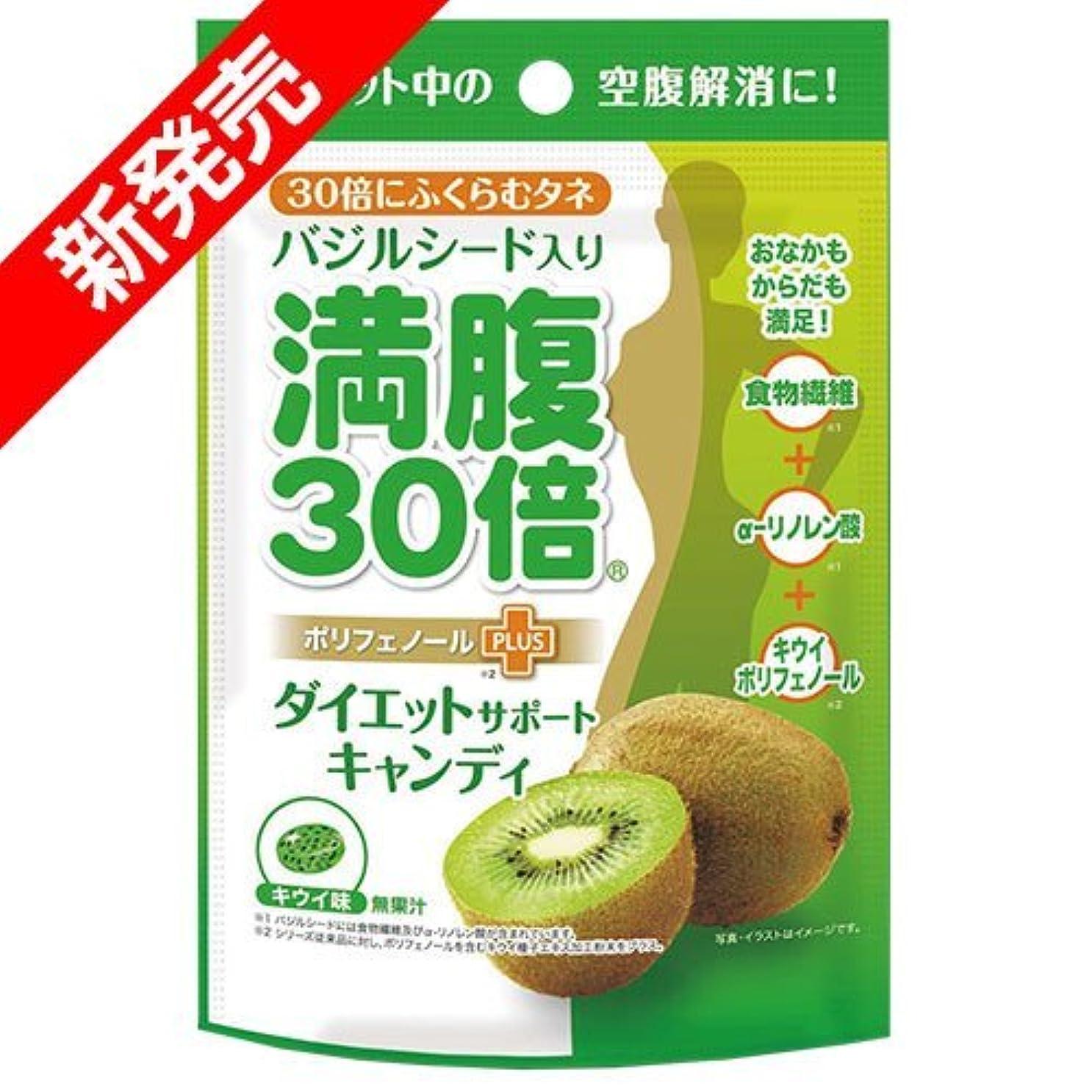 オフ北細菌満腹30倍 ダイエットサポートキャンディ キウイ