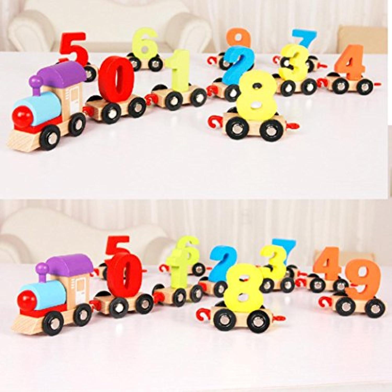 教育玩具 – 木製coerni Number Train