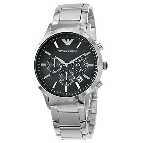 エンポリオ アルマーニ EMPORIO ARMANI クロノ クオーツ メンズ 腕時計 AR2434 [並行輸入品]
