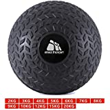 Meteor 1-20KG Tyre Thread Dead Bounce Slam Ball with Thick Sheel for Explosive Strength, Crossfit Training, Muscle Growth, Workout, Resistance, Endurance, Agility, Gym, Home, Exercise