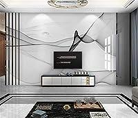 Bzbhart 3D壁紙家の装飾カスタムモダンミニマリスト抽象インクライン大理石のテレビの背景の壁-350cmx245cm