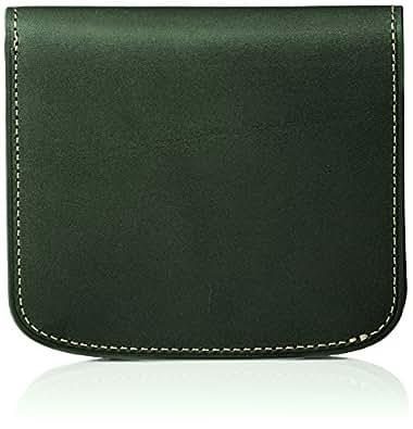 [チマブエ] ミニ財布、2つ折り財布 ブッテーロ グリーン