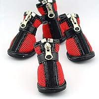 ペットの靴 犬用通気性シューズ サンドイッチメッシュペットシューズ 夏 快適で通気性