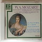 モーツアルト:フルートとハープのための協奏曲&クラリネット協奏曲