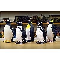 ペンギン  ビニールモデル 5体セット p-61335