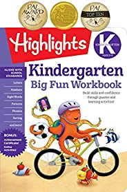The Big Fun Kindergarten Activity Book: Build skills and confidence through puzzles and early learning activit