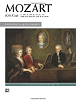 Sonatas for One Piano, Four Hands (Alfred Masterwork Edition)