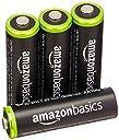 Amazonベーシック 充電池 充電式ニッケル水素電池 単3形4個パック (最小容量1900mAh 約1000回使用可能)