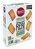 亀田製菓 Mary's gone Crackers リアルクラッカー グルテンフリー 27品目アレルゲンフリー ガーリックローズマリー味 100g×6箱