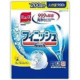 フィニッシュ 食洗機用洗剤 粉末 パワー&ピュア パウダー 詰替 レモン 900g (約200回分)