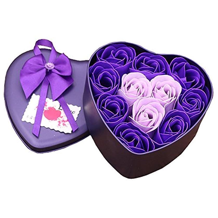 悲しいバブル戸口iCoole ソープフラワー 石鹸花 ハードフラワー形状 ギフトボックス入り 母の日 バレンタインデー お誕生日 ギフト