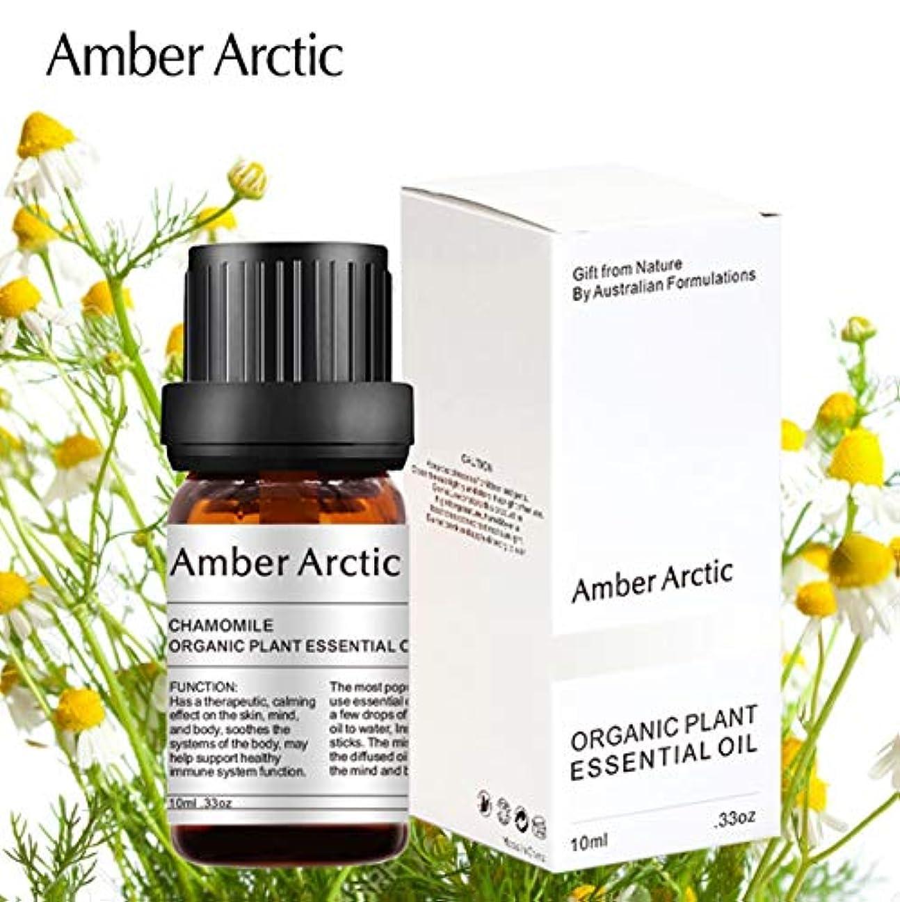 信号どんよりした考古学Amber Arctic カモミール エッセンシャル オイル、100% ピュア 天然 アロマテラピー カモミール オイル スプレッド 用 (10ML) カモミール