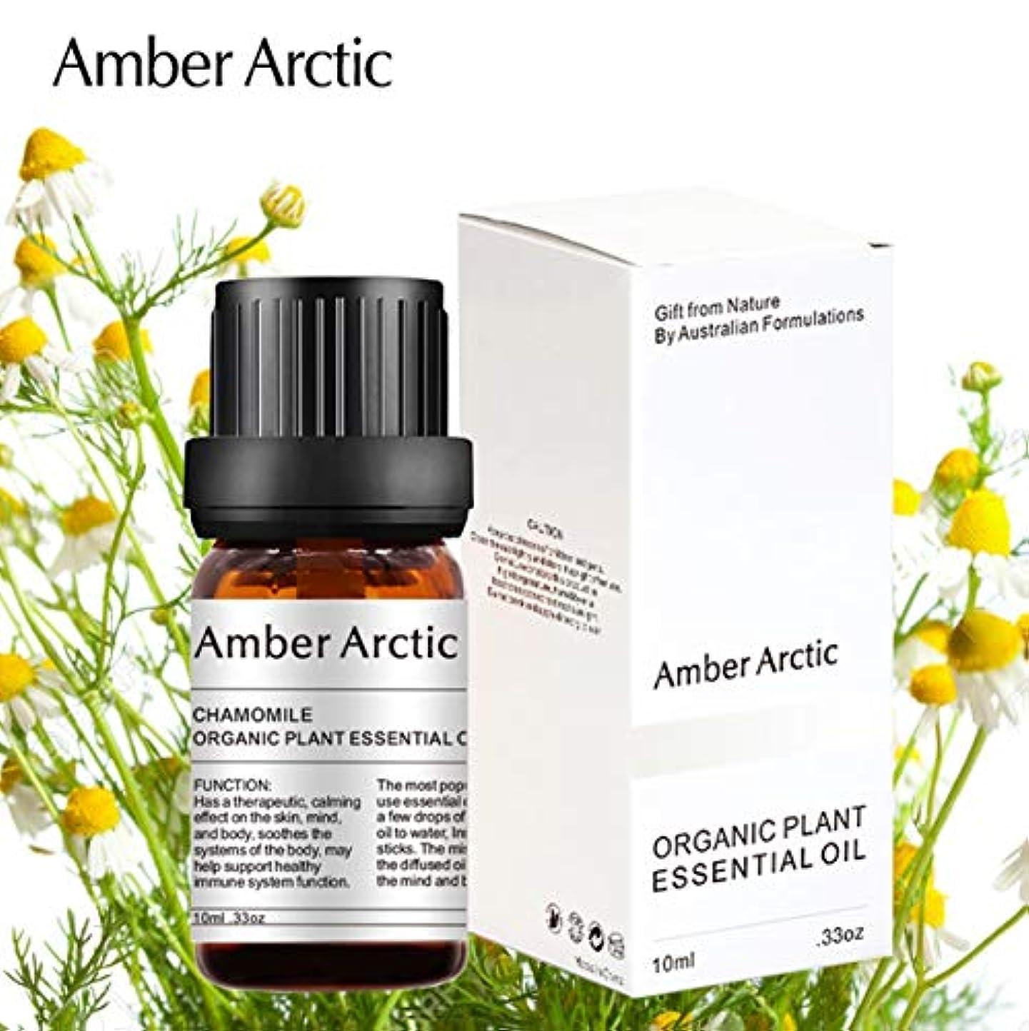 バッテリー順応性のある例Amber Arctic カモミール エッセンシャル オイル、100% ピュア 天然 アロマテラピー カモミール オイル スプレッド 用 (10ML) カモミール