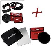 WonderPana FreeArc エッセンシャル ND1000 0.6SE キットコアフィルターホルダー レンズキャップ WP66 ブラケット 0.6 ソフトエッジグラデーションND & 145mm ND1000フィルター Olympus 7-14mm f/2.8 M.ZUIKO Digital ED PRO MFTレンズ用