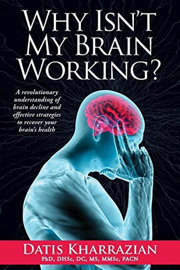 乳製品可聴ひどいWhy Isn't My Brain Working?: A Revolutionary Understanding of Brain Decline and Effective Strategies to Recover Your Brain's Health