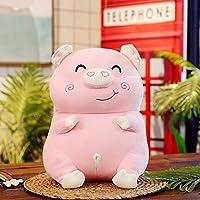 豚 ぬいぐるみ 抱き枕 ぶた ブタ 動物 おもちゃ やわらか クッション 癒し系 リラックス 可愛い ニコニコ 子ども 女の子 萌え プレゼント お祝い 誕生日 彼女に贈り物 子供へインテリア ピンク 40cm