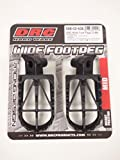 DRC Wide足ペグCrMo Mid yz250F / 450F , yz125/ 25099–16yzf250N / A by DRC