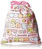 [サンエックス] San-x すみっコぐらし 巾着(小) SU201 ピンク (ピンク)
