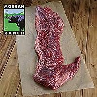 モーガン牧場ビーフ アメリカ産牛肉 熟成 高品質 スカートステーキ (ハラミ)アメリカンビーフ ホルモン剤や抗生物質不使用 450g