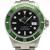 (ロレックス)ROLEX 腕時計 サブマリーナ デイト ファット4 ビッグスイス SS 16610LV(F) メンズ 中古